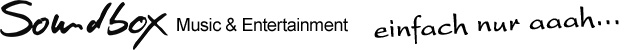 Soundbox Music - Entertainment Logo
